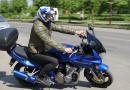 Filmuojant policijos klipą buvo apgadintas motociklas