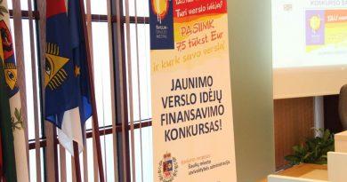 Savivaldybė finansuos geriausias jaunimo verslo idėjas