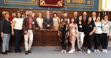 """,,ERASMUS+"""" projekto partnerių susitikimas Madride"""