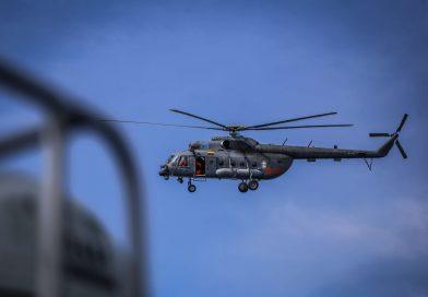 Šiauliuose organizuojamos pratybos, kuriose sraigtasparnis patiria variklio gedimą