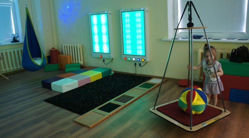 Moters ir vaiko klinikoje duris atvėrė multisensorinis kambarys vaikams
