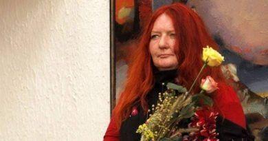 Mirė dailininkė, pedagogė Vita Žabarauskaitė